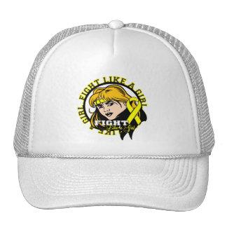 Sarcoma Fight Like A Girl Attitude Mesh Hat