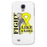 Sarcoma Fight Like A Girl Kickin Butt Samsung Galaxy S4 Case