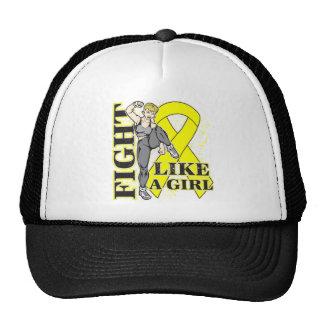 Sarcoma Fight Like A Girl Kickin Butt Hats