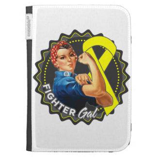 Sarcoma Fighter Gal Kindle Folio Cases