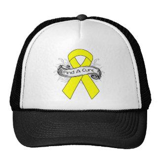Sarcoma Find A Cure Ribbon Trucker Hat