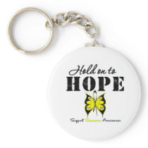 Sarcoma Hold On To Hope Keychain