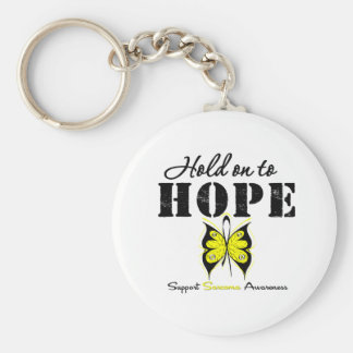 Sarcoma Hold On To Hope Keychains