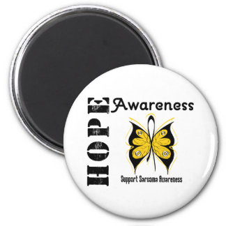Sarcoma Hope Awareness 2 Inch Round Magnet