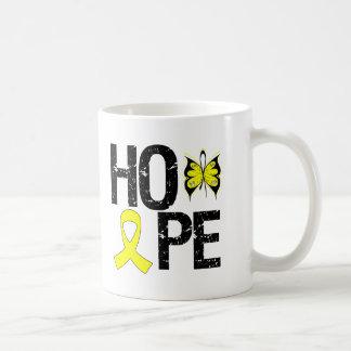 Sarcoma Hope Awareness Classic White Coffee Mug