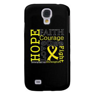 Sarcoma Hope Faith Motto Samsung Galaxy S4 Covers