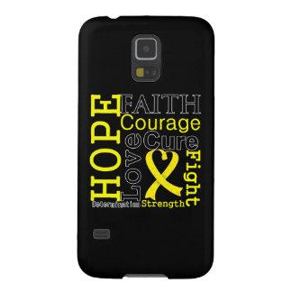 Sarcoma Hope Faith Motto Cases For Galaxy S5