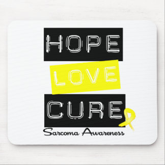 Sarcoma Hope Love Cure Mouse Mats