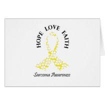 Sarcoma Hope - Sarcoma Awareness Card