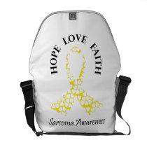 Sarcoma Hope - Sarcoma Awareness Courier Bag