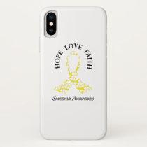 Sarcoma Hope - Sarcoma Awareness iPhone X Case