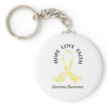 Sarcoma Hope - Sarcoma Awareness Keychain