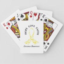 Sarcoma Hope - Sarcoma Awareness Playing Cards