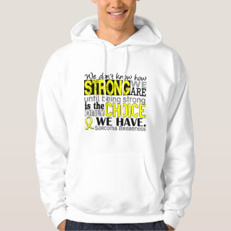 Sarcoma How Strong We Are Hoody
