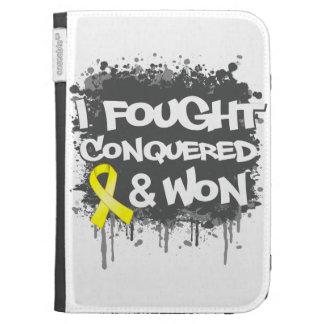 Sarcoma I Fought Conquered Won Kindle Folio Cases