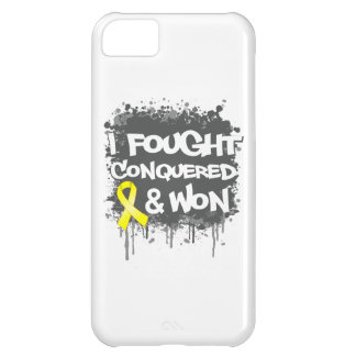 Sarcoma I Fought Conquered Won iPhone 5C Cover