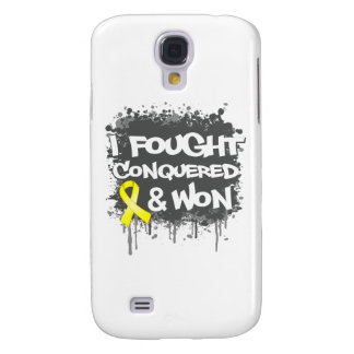 Sarcoma I Fought Conquered Won Galaxy S4 Covers