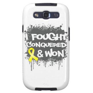 Sarcoma I Fought Conquered Won Galaxy SIII Case