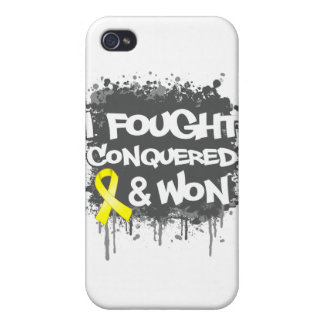 Sarcoma I Fought Conquered Won iPhone 4/4S Covers