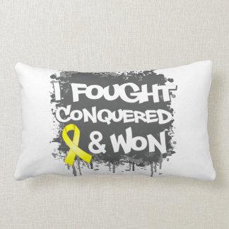 Sarcoma I Fought Conquered Won Pillow