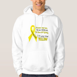 Sarcoma I Proudly Wear Yellow 1 Pullover