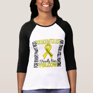 Sarcoma I Proudly Wear Yellow 2 T-Shirt