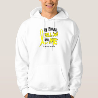 Sarcoma I WEAR YELLOW FOR ME 37 Hoody