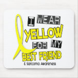 Sarcoma I WEAR YELLOW FOR MY BEST FRIEND 37 Mouse Mats