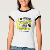 Sarcoma I WEAR YELLOW FOR MY BOYFRIEND 37 T-Shirt