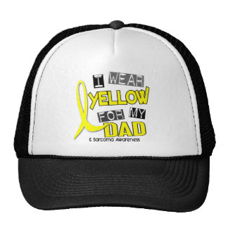 Sarcoma I WEAR YELLOW FOR MY DAD 37 Trucker Hat