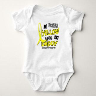 Sarcoma I WEAR YELLOW FOR MY DADDY 37 Baby Bodysuit