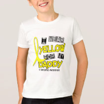 Sarcoma I WEAR YELLOW FOR MY DADDY 37 T-Shirt