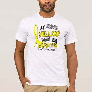 Sarcoma I WEAR YELLOW FOR MY DAUGHTER 37 T-Shirt