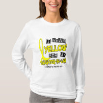 Sarcoma I WEAR YELLOW FOR MY DAUGHTER-IN-LAW 37 T-Shirt