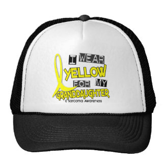 Sarcoma I WEAR YELLOW FOR MY GRANDDAUGHTER 37 Trucker Hat