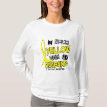 Sarcoma I WEAR YELLOW FOR MY HUSBAND 37 T-Shirt