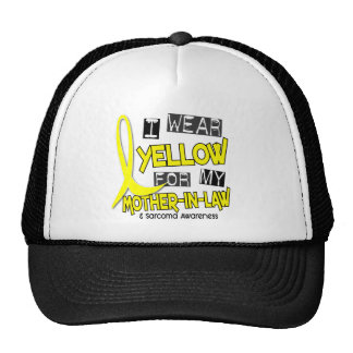 Sarcoma I WEAR YELLOW FOR MY MOTHER-IN-LAW 37 Trucker Hat