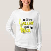 Sarcoma I WEAR YELLOW FOR MY NIECE 37 T-Shirt