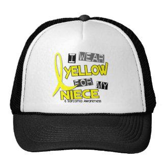 Sarcoma I WEAR YELLOW FOR MY NIECE 37 Trucker Hat