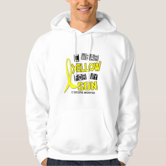 Sarcoma I WEAR YELLOW FOR MY SON 37 Hoodie