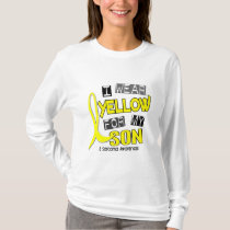 Sarcoma I WEAR YELLOW FOR MY SON 37 T-Shirt