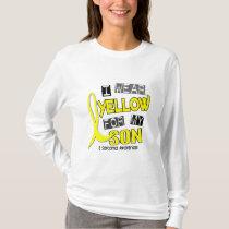 Sarcoma I WEAR YELLOW FOR MY SON 37 T-Shirt