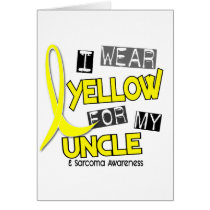 Sarcoma I WEAR YELLOW FOR MY UNCLE 37