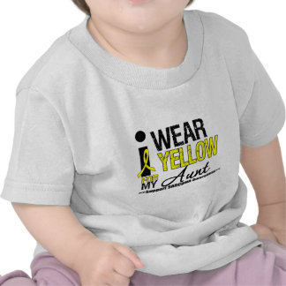 Sarcoma I Wear Yellow Ribbon For My Aunt T Shirt