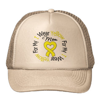 Sarcoma I Wear Yellow Ribbon For My Mom Trucker Hat