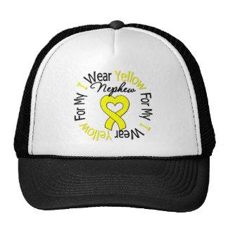 Sarcoma I Wear Yellow Ribbon For My Nephew Trucker Hat