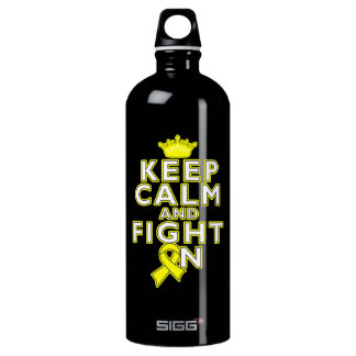 Sarcoma Keep Calm Fight On SIGG Traveler 1.0L Water Bottle