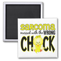 Sarcoma Messed With The Wrong Chick Magnet