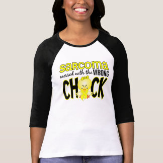 Sarcoma Messed With The Wrong Chick T-shirt