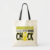 Sarcoma Messed With The Wrong Chick Tote Bag